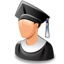 graduated icon