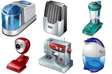 Real Vista Electrical Appliances Icons