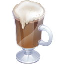 Irish coffee icon