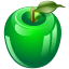 Green-apple icon