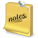 task notes icon