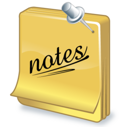 Task notes icon