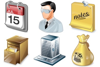 Real Vista Project Management Icons