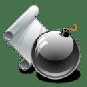 Malicious code icon