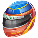 formula 1 helmet icon