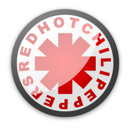 Red hot chili peppers 5 icon