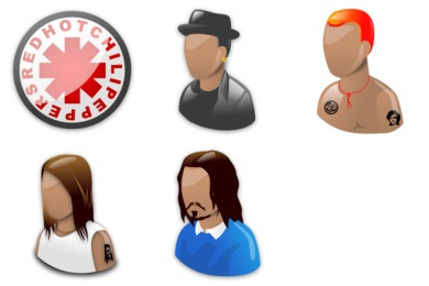 Red Hot Chili Peppers Icons