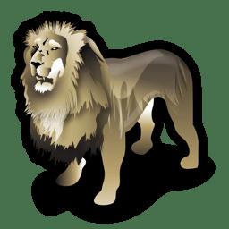 Lion Icon | Stroke Animals Iconset | Iconshock: www.iconarchive.com/show/stroke-animals-icons-by-iconshock/lion...