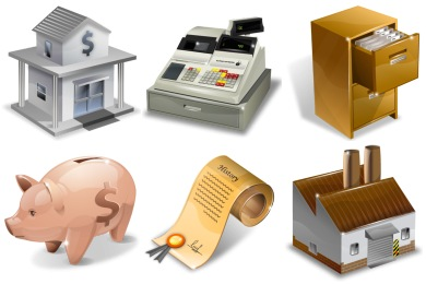 Super Vista Accounting Icons