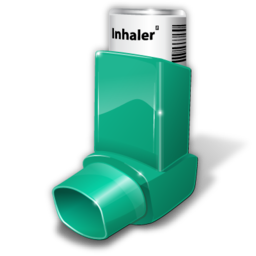 asthma inhaler icon