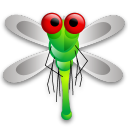 Dragon-fly icon