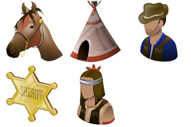 Wild West Icons