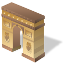 Arc de triomphe icon