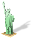 Statue-of-liberty icon