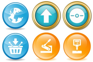 Button Design Pack Icons