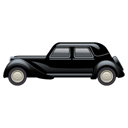 Oldtimer car icon