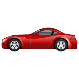 Sportscar car icon