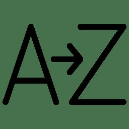 A Z icon