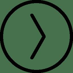Arrow RightinCircle icon