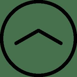 Arrow UpinCircle icon
