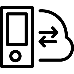 Device SyncwithCloud icon