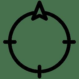 Direction North icon