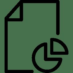 File Pie icon