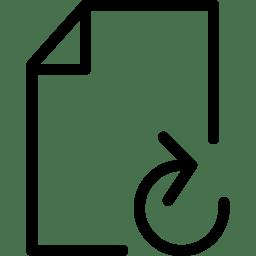File Refresh icon