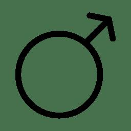 Man Sign icon