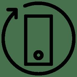 Rotation 390 icon