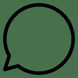 Speach Bubble 11 icon