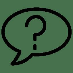 Speach BubbleAsking icon