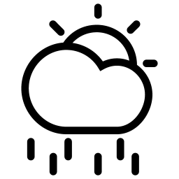 Sun CloudyRain icon