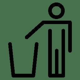 Trash withMen icon