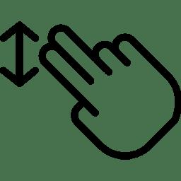 Two FingersDrag icon