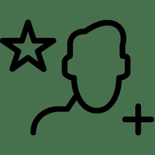 Add-UserStar icon