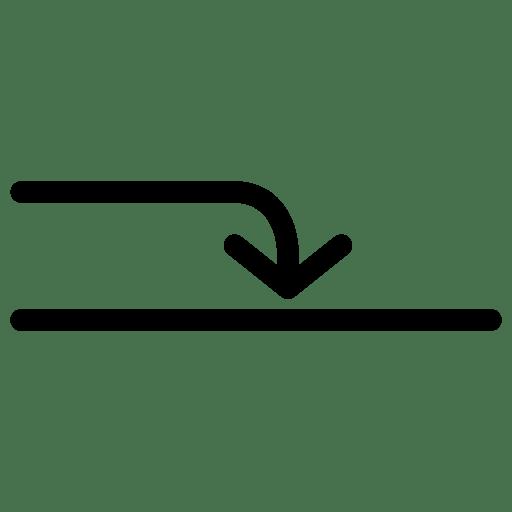 Arrow-Into icon