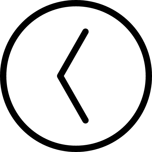 Arrow LeftinCircle icon