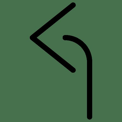 Arrow-TurnLeft icon