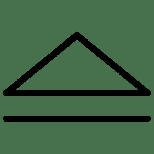 Arrow-Up-3 icon