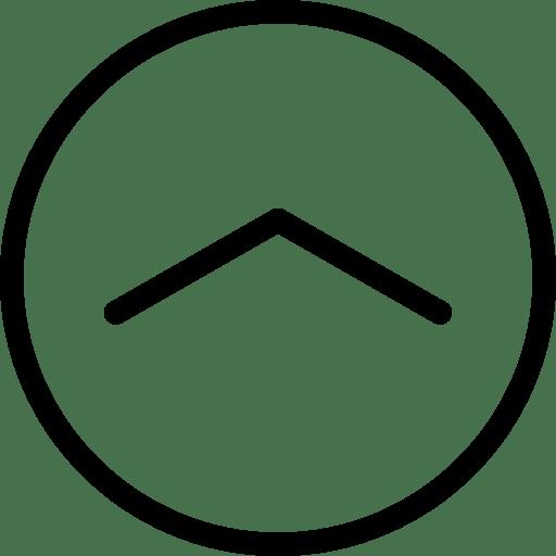 Arrow-UpinCircle icon