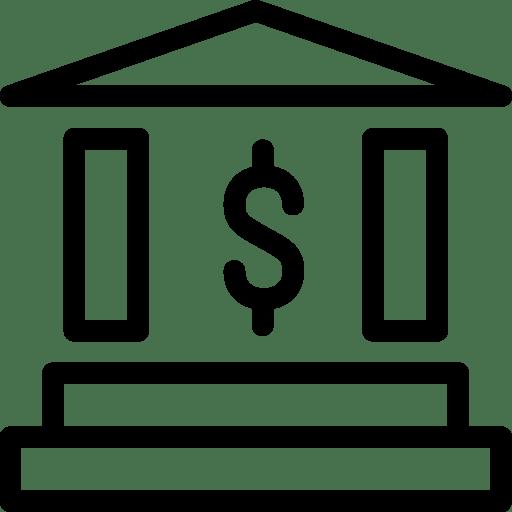 Bank Icon | Line Iconset | IconsMind