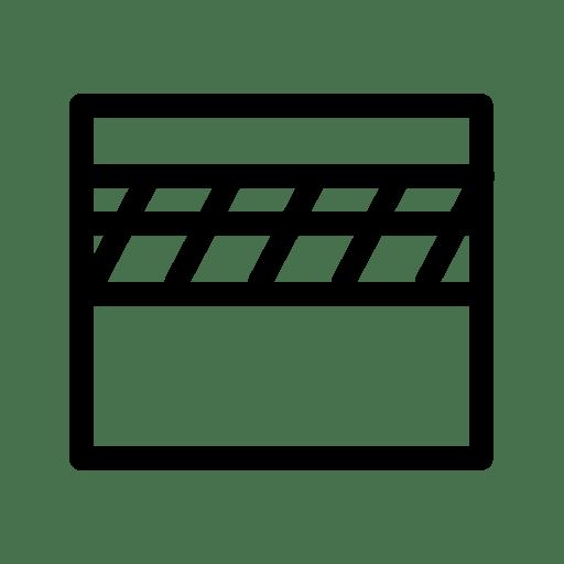 Clapperboard-Close icon