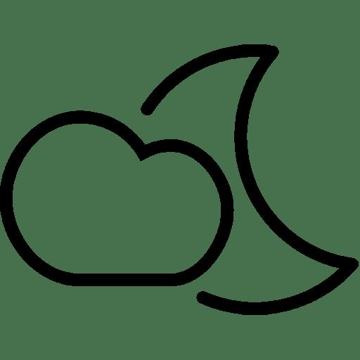 Cloud-Moon icon