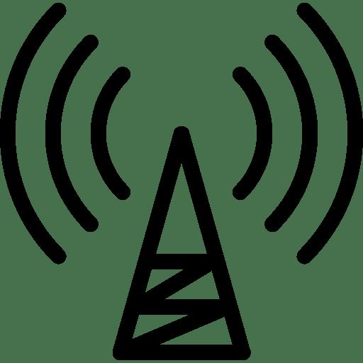 Communication Tower Icon | Line Iconset | IconsMind