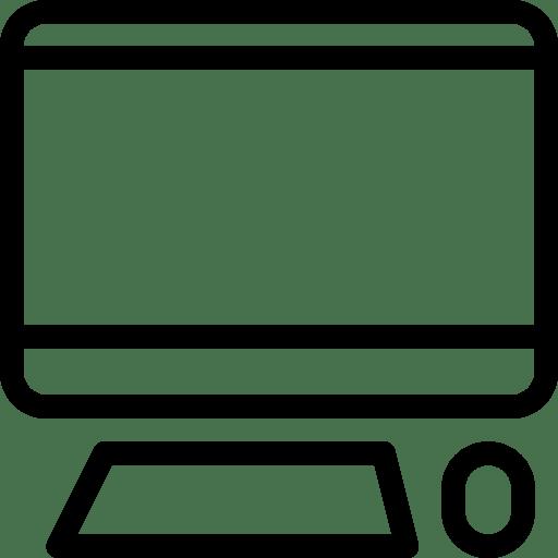 Computer Icon | Line Iconset | IconsMind