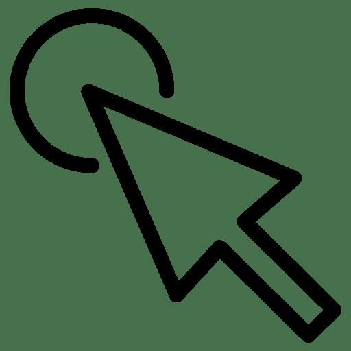 Cursor-Click icon