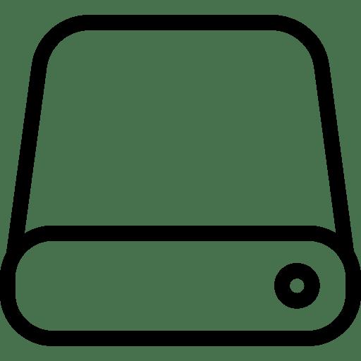 Data Storage Icon | Line Iconset | IconsMind