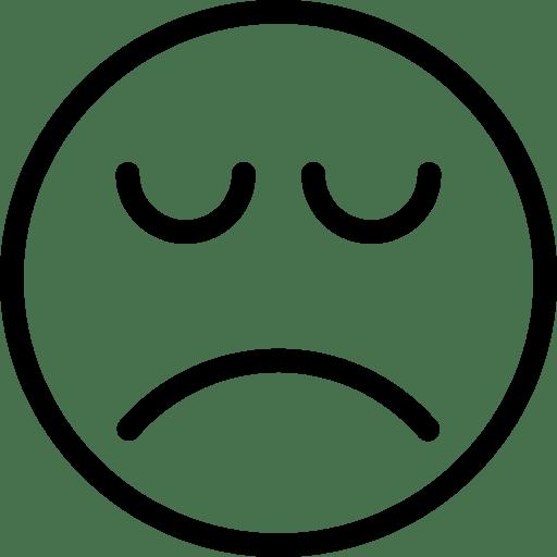 Depression Icon Line Iconset Iconsmind