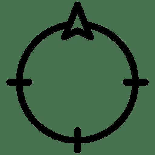 Direction-North icon